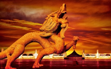 Dragon-statue-in-China