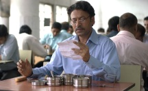 THE LUNCHBOX - 2014 FILM STILL - Irrfan Khan as Saajan - Photo Credit: Michael Simmonds/Sony Pictures Classics