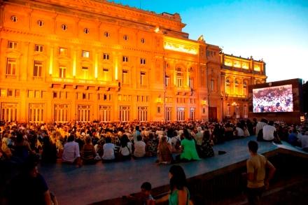 Vista general Plaza Vaticano Cierre Festival